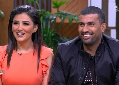 مي عمر ومحمد سامي