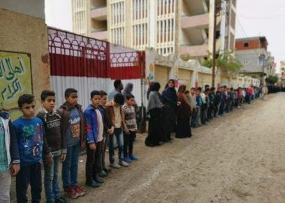 طلاب مدرسة الشيهد غازي