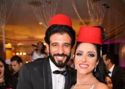الفنانة حنان مطاوع وزوجها أمير اليماني