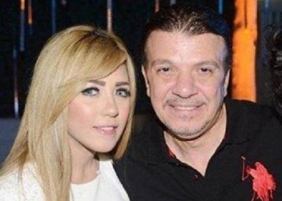 أحمد سلامة وابنته سارة