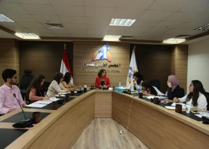 لجنة الشباب بالمجلس القومي للمرأة تعقد اجتماعها الأول فى دورتها الثانية