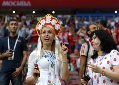 مشجعات روسيا