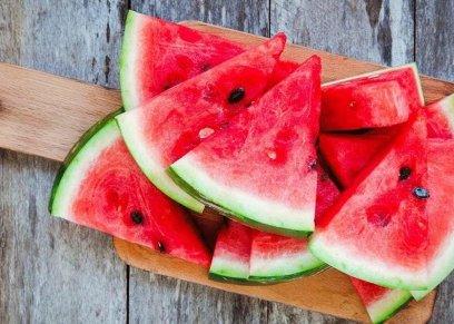 فوائد البطيخ يساعد على تخسيس الوزن