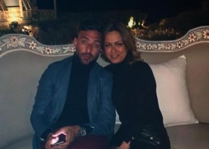 أحمد حسام ميدو وزوجته