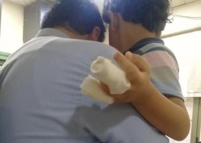 الطفل سيد حاتم ضحية العنف داخل مدرسة الأورمان للغات