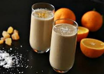 مشروب الشكولاتة بالبرتقال