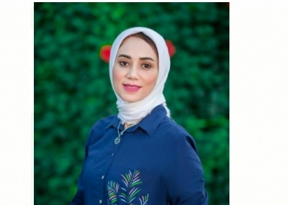 مصممة الملابس شيماء النجار