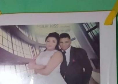عروسة الهرم وزوجها