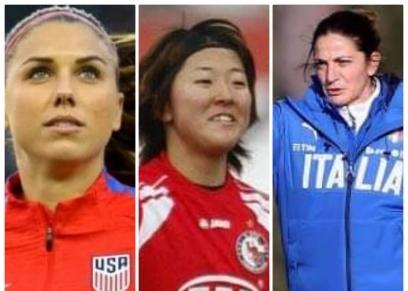 سيدات اقتحمن ملاعب كرة القدم