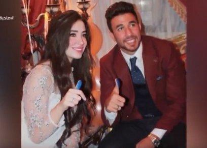 محمود تريزيجيه وزوجته