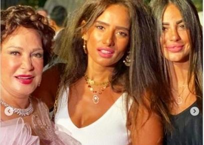 زينة في حفل خطوبة ابنة مدحت العدل