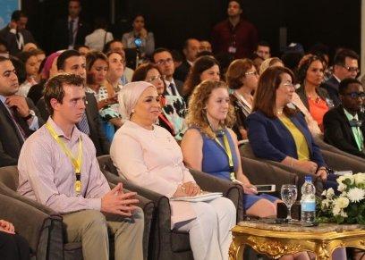 لسيدة الاولي انتصار السيسي قرينة السيد الرئيس عبد الفتاح السيسي رئيس الجمهورية