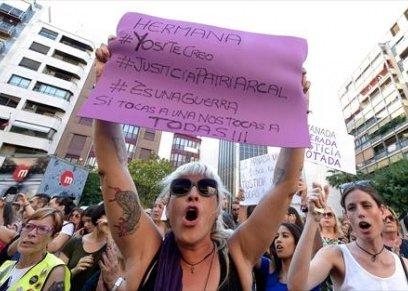 احتجاجات بإسبانيا
