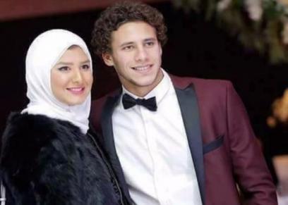 رمضان صبحي وزوجته
