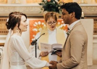 حفل الزفاف