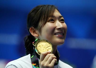 ريكاكو إيكي.. أول سباحة تتوج بلقب الأفضل في ألعاب آسيا بجاكرتا