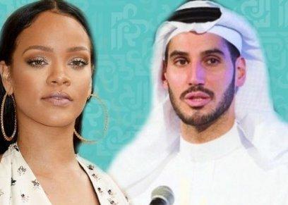 ريهانا تتناول العشاء مع حبيبها السعودي الأسبق