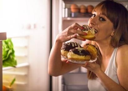 عدم زيادة الوزن رغم تناول الطعام بشراهة