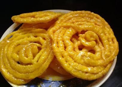 طريقة عمل حلوى الجاليبي الهندية