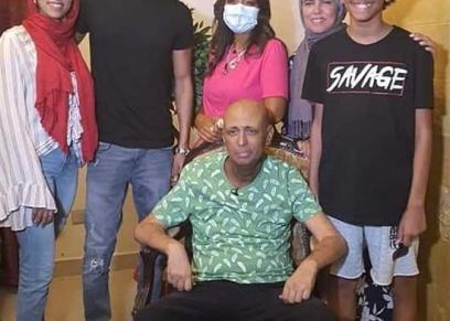 أسرة الفنان جمال يوسف