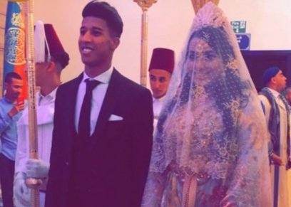 بحضور وليد أزارو.. نجم الزمالك يحتفل بزفافه في المغرب