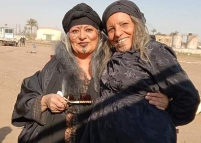 فريدة سيف النصر من كواليس مسلسل موسى