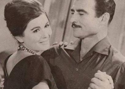 أحمد مظهر وسعاد حسني