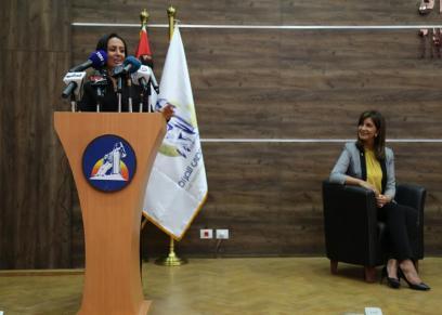 زيارة السفيرة نبيلة مكرم للمجلس القومي للمرأة