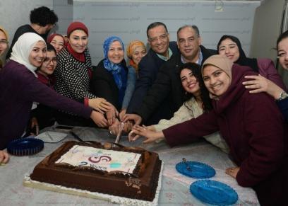 بالصور| «الوطن» تحتفل بالعام الثاني على تأسيس موقع «هن»