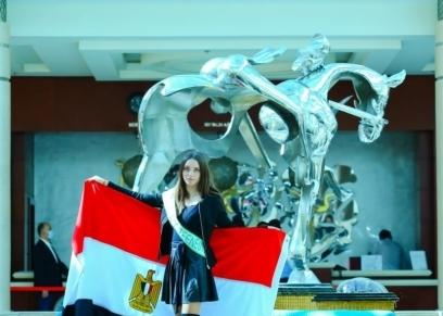 وصول ملكات جمال مصر و الهند وجنوب أفريقيا للمشاركة فى مسابقة ميس ايكو بالغردقة