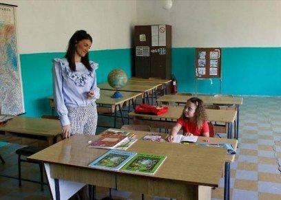 طالبة بمدرسة بصربيا