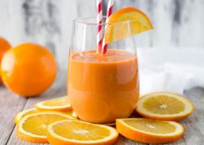 سموثى برتقال