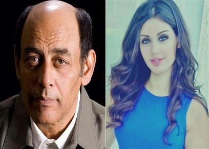 احمد بدير ونجلته سارة