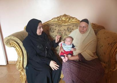 مروة ممدوج، زوجة الطبيب محمود سامي فاقد بصره