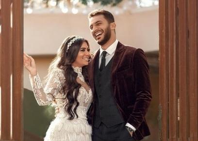 محمد فرج وخطيبته