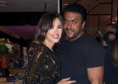 ياسمين عبد العزيز وأحمد العوضي