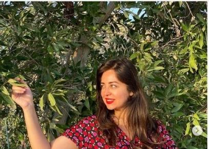 الفنانة هبة مجدي