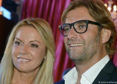 بالصور| على صندوق القمامة.. كيف احتفلت زوجة مدرب ليفربول بالفوز في دوري أبطال أوروبا