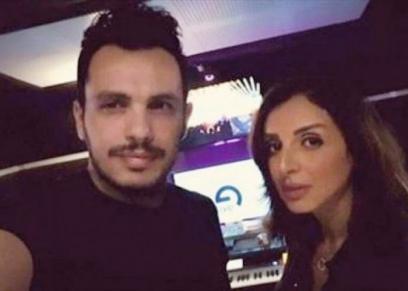 أنغام وزوجها