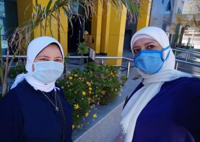 جيهان يحيى مشرفة التمريض في مستشفى العجمي