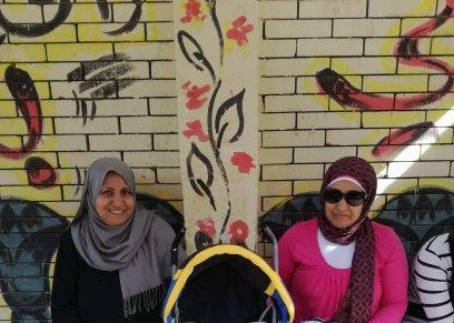 بعد أشهر من ولادتها.. ريهام وعائلتها يشاركن في الانتخابات الرئاسية: