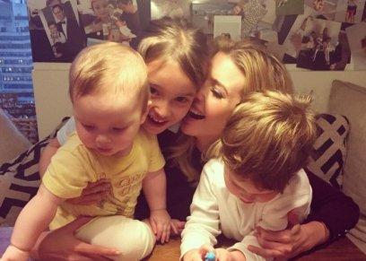إيفانكا مع أبنائها الثلاثة
