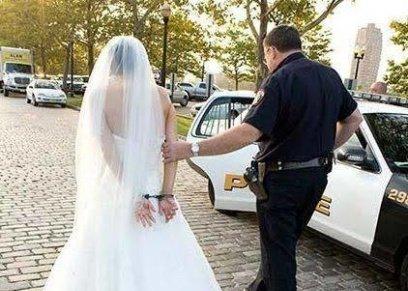 عروس داخل السجن