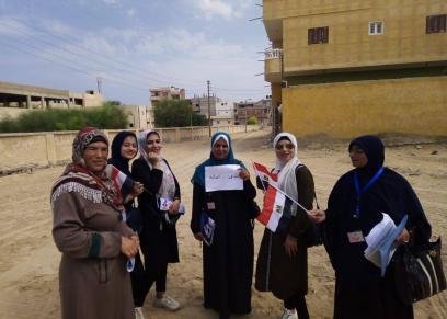 حملة طرق الأبواب تصل لـ ٥١٠٠ مستهدف في يومها الثالث بشمال سيناء