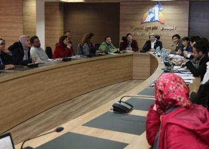 القومي للمرأة يبحث سبل التعاون مع وفد الوكالة الكورية للتعاون الدولى koica