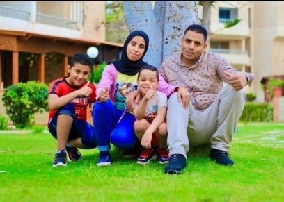 محمد وأسرته يدشنان قناة على يوتيوب