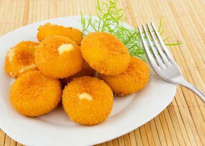 كروكيت البطاطس بالجبنة