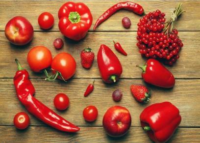 أطعمة حمراء