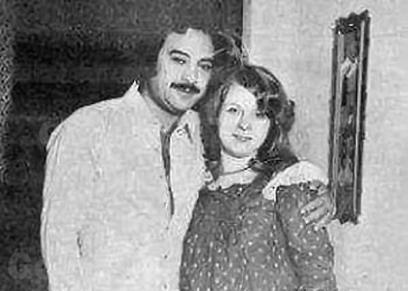 يوسف شعبان وزوجته الثانية