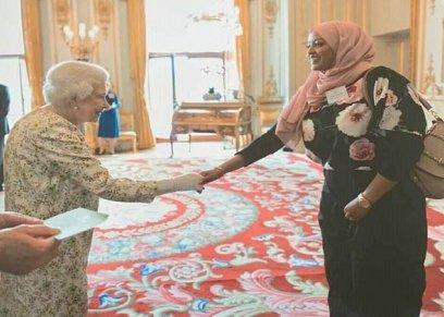 نساء داخل قصر بيكهام لتكريمهن عن انجازتهن